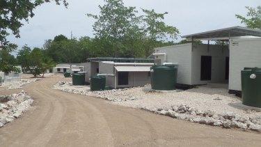 The detention centre on Nauru.