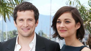 Guillaume Canet and Marion Cotillard in Cannes and in love.