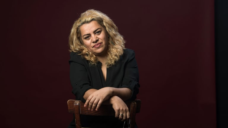 Shokoofeh Azar is an Iranian refugee, ex-Christmas Island detainee, whose book has been shortlisted for the Stella Prize for women writers.