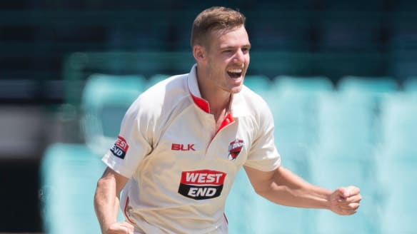 Canberra's Nick Winter bags 10 wickets in Sheffield Shield game for SA Redbacks