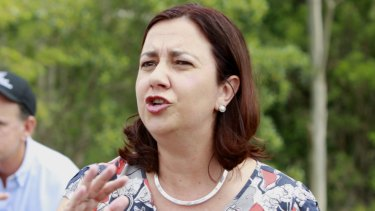 Queensland Opposition Leader Annastascia Palaszczuk.
