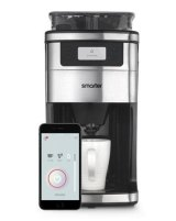 The Smarter Wi-Fi Coffee Machine. It knows when you wake up or when you're likely to get home so it can greet you with sweet caffeine.