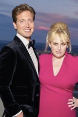 Rebel Wilson with her beer baron boyfriend Jacob Busch in Monte Carlo last year.