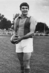 Ron Best during his days playing for Golden Square.