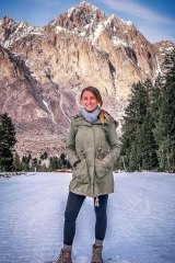 Jolie King and her partner's trip took them to some breathtaking locations.