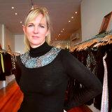 Fashion designer Lisa Barron.