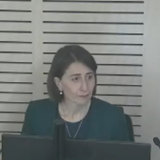 Gladys Berejiklian gives evidence at the ICAC inquiry.