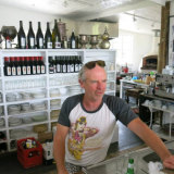 Andrew Clarke and his winery Jinks Creek.