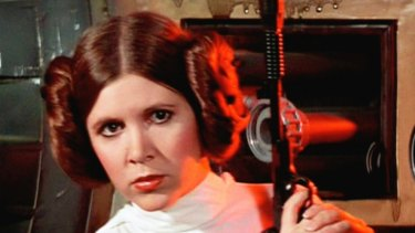 Princess Leia ... how to play a smart, tough woman in a largely male galaxy.