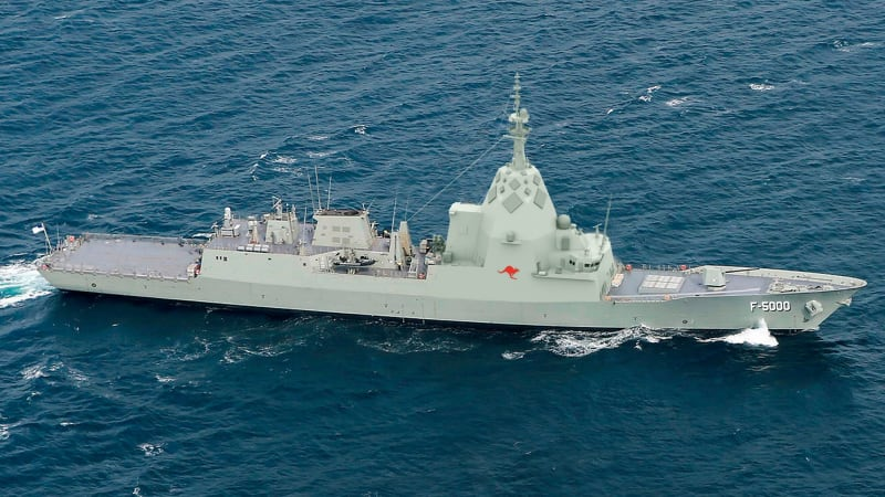 BAE frontrunner to win $35 billion frigate contract with Australian navy