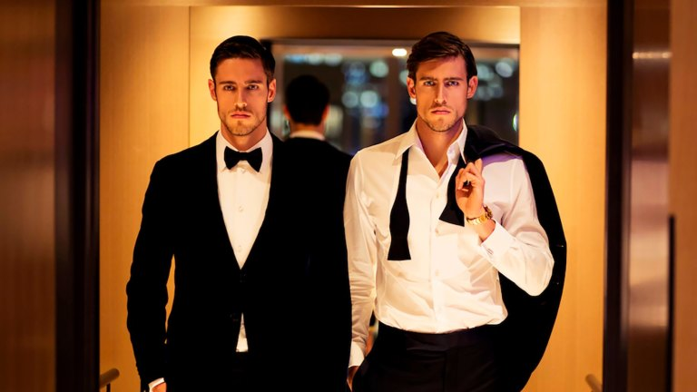 PS: Stenmark twins get whiff of Armani success