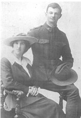 John Wallace Malseed with his wife Cecilia on their wedding day. Malseed is Tony Wright's grandfather.