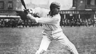 All style. Victor Trumper at The Oval.