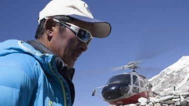 Phurba Tashi in Jennifer Peedom's documentary Sherpa.