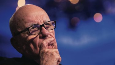 Rupert Murdoch, chairman of News Corp.