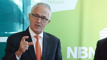 Malcolm Turnbull: Existing users will receive a third more capacity.