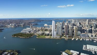 Double trouble: Two new modifications would take the floor space at Barangaroo to 681,000 square metres.