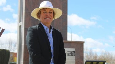 Helen Dalton, candidate for the Shooters, Fishers and Farmers party in the Murray byelection.