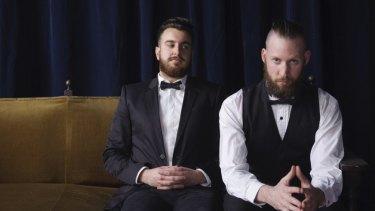 MKA Theatre creative directors John Kachoyan (left) and Tobias Manderson-Galvin.