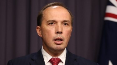 Peter Dutton said former Prime Minister Malcolm Fraser made mistakes bringing some people to Australia in the 1970s, citing immigrants from Lebanese-Muslim backgrounds.