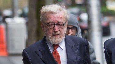 Lawyer Robert Richter outside court in September last year.