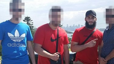 Tamim Khaja (right) was arrested by counter-terrorism police in May 2016.