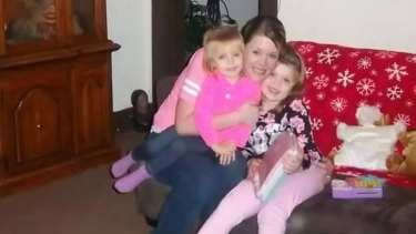 Tiffany Sayre and her two children (Sayre family)