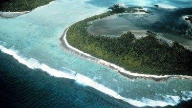 The Cocos Islands.