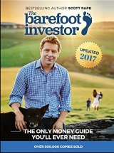 Scott Pape's The Barefoot Investor was the best-selling book in Australia for the second year in a row.