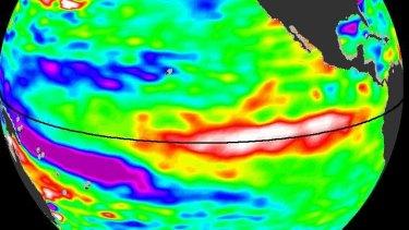The most recent El Nino (2009-10).