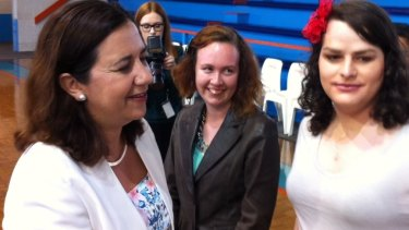 Annastacia Palaszczuk meets locals in Cairns on the first full day of campaigning for the State Election.