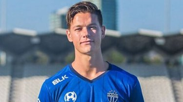 Top marksman: South Melbourne midfielder Marcus Schroen.