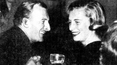 McEvoy and his third wife, Claude Stephani, not long before their deaths.