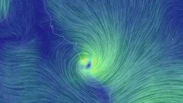 Cyclone Marcia has crossed the Queensland coast near Yeppoon.