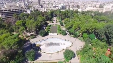 The Syrian Ministry of Tourism is running an advertising campaign showing a very different picture of Aleppo.