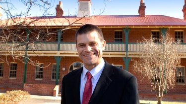 """This is a selfish idea"": Andrew Vann, Charles Sturt University vice-chancellor."