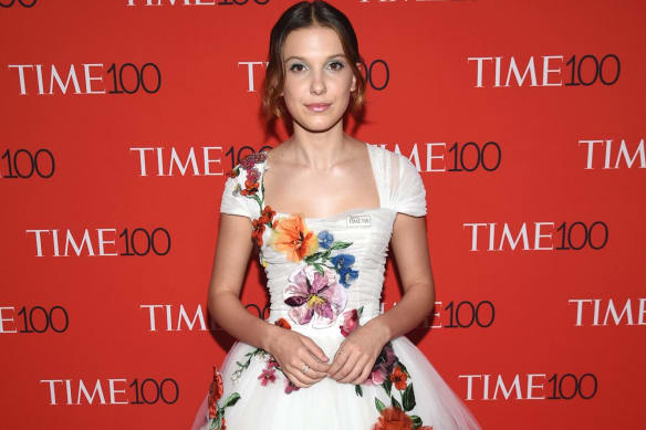 Millie Bobby Brown attends the Time 100 Gala.