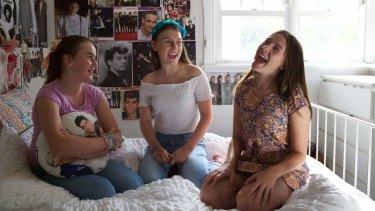 Elif (right) and her friends are devotees of US band One Direction.