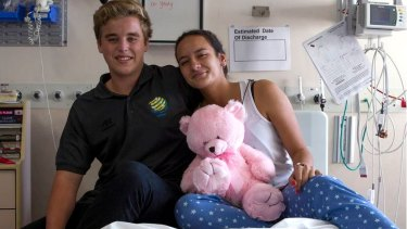 Emma Douglas, 16, collapsed during a soccer match where her heart stopped and was revived by soccer referee Max Vercoe.