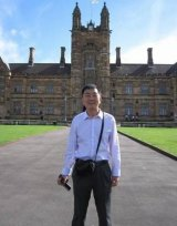 Xin Lijian at the University of Sydney.