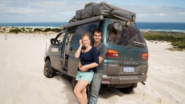 Alex and Michaela Ferreira are hoping Vanda will take them 180,000 kilometres across the globe.