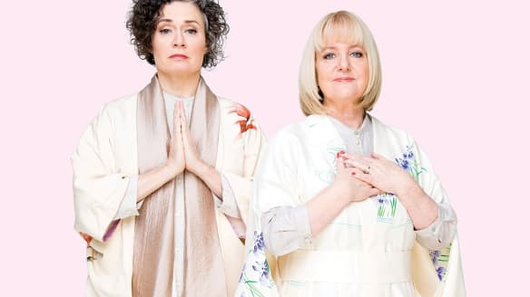 Menopause and arthritis are laughing matters for Judith Lucy and Denise Scott