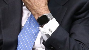 Mr Turnbull is a fan of the device.