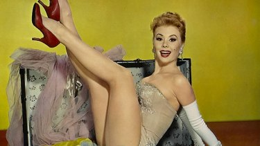 Mitzi Gaynor in Les Girls, part of the Orry-Kelly costume design exhibition at ACMI.