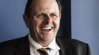 Rob Whitfield reportedly left a $5-million-a-year job to become secretary of NSW Treasury.