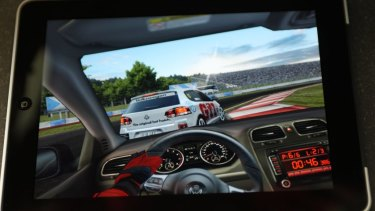 Real Racing HD, by Melbourne studio Firemint took the iPad world by storm. The studio also made Flight Control.