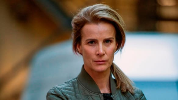 Rachel Griffiths stars in <i>Dead Lucky</I>.