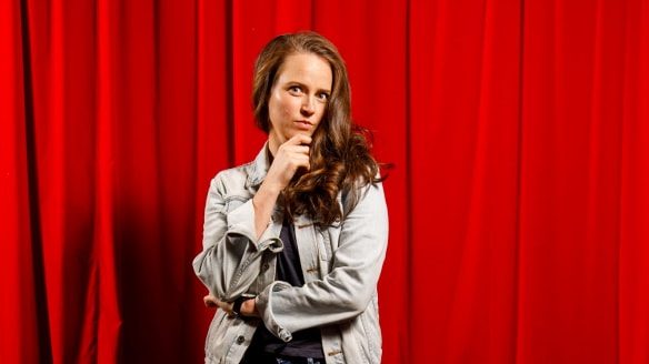Zoe Coombs Marr is ditching her sexist alter ego Dave and performing as herself.