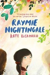 <i>Raymie Nightingale</i> by Kate DiCamillo.