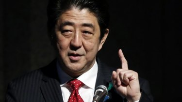 Japanese Prime Minister Shinzo Abe would like to speak to Russian president Vladimir Putin.
